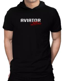 Aviator With Attitude Hooded T-Shirt - Mens