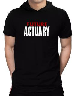 Future Actuary Hooded T-Shirt - Mens