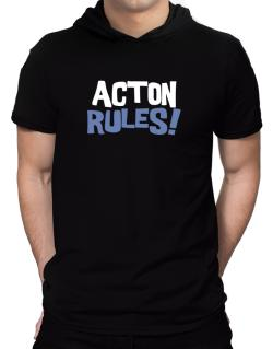 Acton Rules! Hooded T-Shirt - Mens