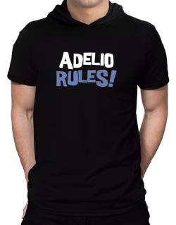 Adelio Rules! Hooded T-Shirt - Mens