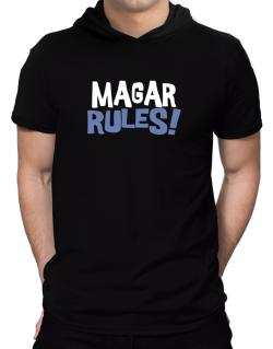 Magar Rules! Hooded T-Shirt - Mens