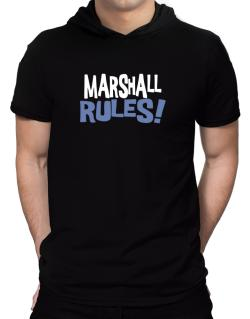Marshall Rules! Hooded T-Shirt - Mens