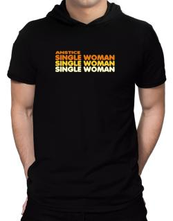 Anstice Single Woman Hooded T-Shirt - Mens