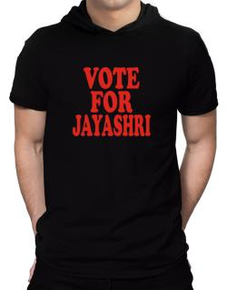 Vote For Jayashri Hooded T-Shirt - Mens