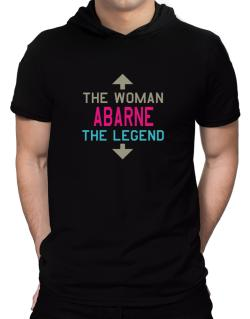 Abarne - The Woman, The Legend Hooded T-Shirt - Mens