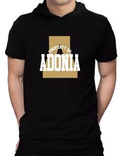 Property Of Adonia Hooded T-Shirt - Mens