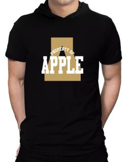 Property Of Apple Hooded T-Shirt - Mens