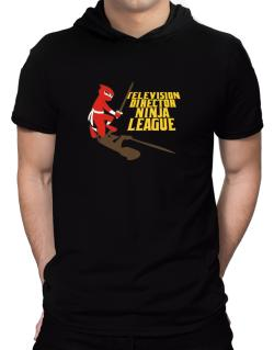 Television Director Ninja League Hooded T-Shirt - Mens