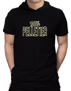 100% Pelletier Hooded T-Shirt - Mens