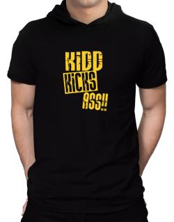 Kidd Kicks Ass!! Hooded T-Shirt - Mens