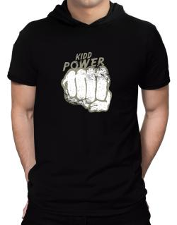 Kidd Power Hooded T-Shirt - Mens