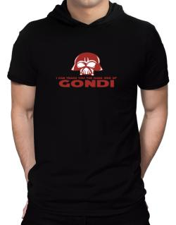 I Can Teach You The Dark Side Of Gondi Hooded T-Shirt - Mens