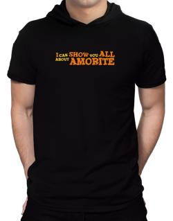 I Can Show You All About Amorite Hooded T-Shirt - Mens
