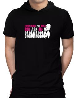 Anything You Want, But Ask Me In Saramaccan Hooded T-Shirt - Mens