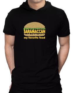 Saramaccan My Favorite Food Hooded T-Shirt - Mens