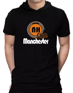Manchester - State Hooded T-Shirt - Mens