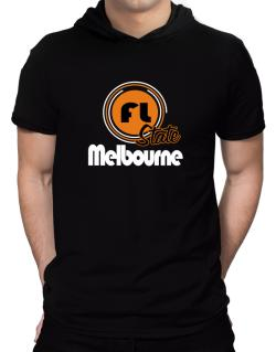 Melbourne - State Hooded T-Shirt - Mens