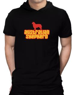 Breed Color Australian Shepherd Hooded T-Shirt - Mens