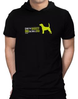 Even The Biggest Dog Has Been A Pup - Beagle Hooded T-Shirt - Mens