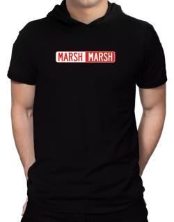 Negative Marsh Hooded T-Shirt - Mens