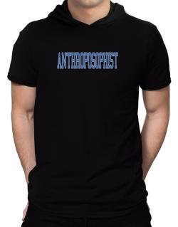 Anthroposophist - Simple Athletic Hooded T-Shirt - Mens