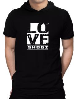 Love Shogi Hooded T-Shirt - Mens