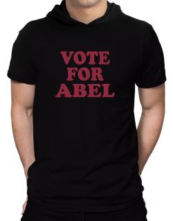 Vote For Abel Hooded T-Shirt - Mens