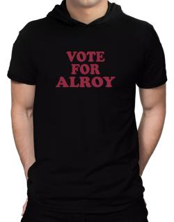 Vote For Alroy Hooded T-Shirt - Mens