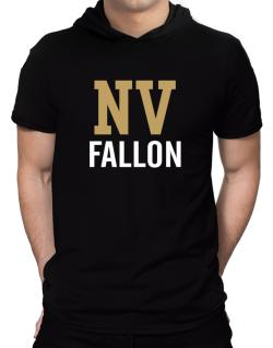 Fallon - Postal usa Hooded T-Shirt - Mens
