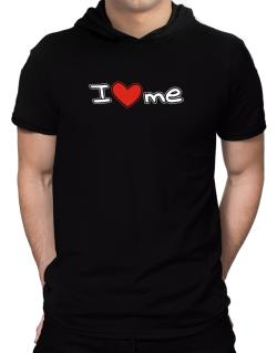 I love me Hooded T-Shirt - Mens
