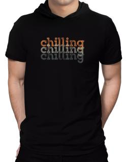Chilling repeat retro Hooded T-Shirt - Mens