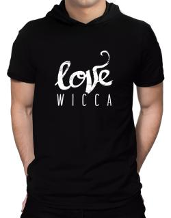 Love Wicca 2 Hooded T-Shirt - Mens