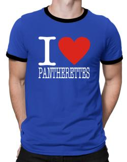 I Love Pantherettes Ringer T-Shirt