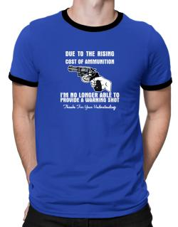 Warning shot Ringer T-Shirt
