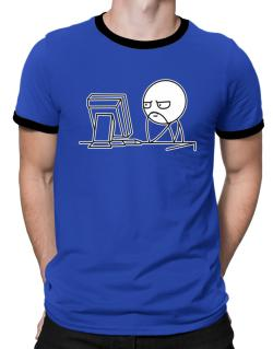 Computer guy Ringer T-Shirt