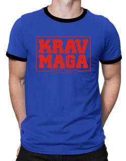 Krav maga art of combat Ringer T-Shirt