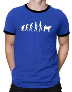 Wetterhoun evolution Ringer T-Shirt