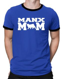 Manx mom Ringer T-Shirt