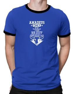 Amadeus Only for the Brave Ringer T-Shirt