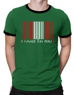 Made in Peru cool design  Ringer T-Shirt