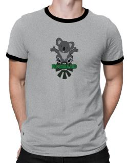 Koalafied for a hug Ringer T-Shirt