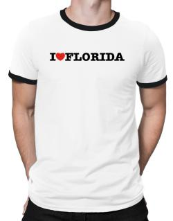 I Love Florida Ringer T-Shirt