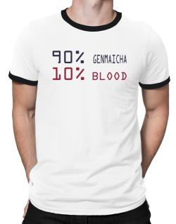 90% Genmaicha 10% Blood Ringer T-Shirt
