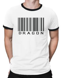Dragon Barcode / Bar Code Ringer T-Shirt
