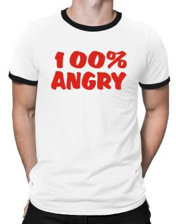 100% Angry Ringer T-Shirt