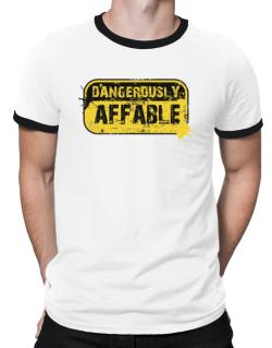 Dangerously Affable Ringer T-Shirt