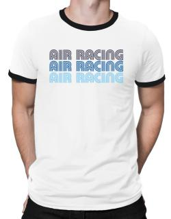 Air Racing Retro Color Ringer T-Shirt