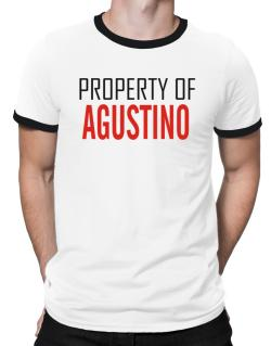 Property Of Agustino Ringer T-Shirt