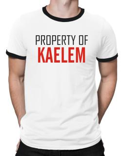 Property Of Kaelem Ringer T-Shirt