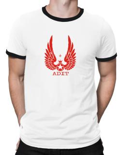 Adit - Wings Ringer T-Shirt
